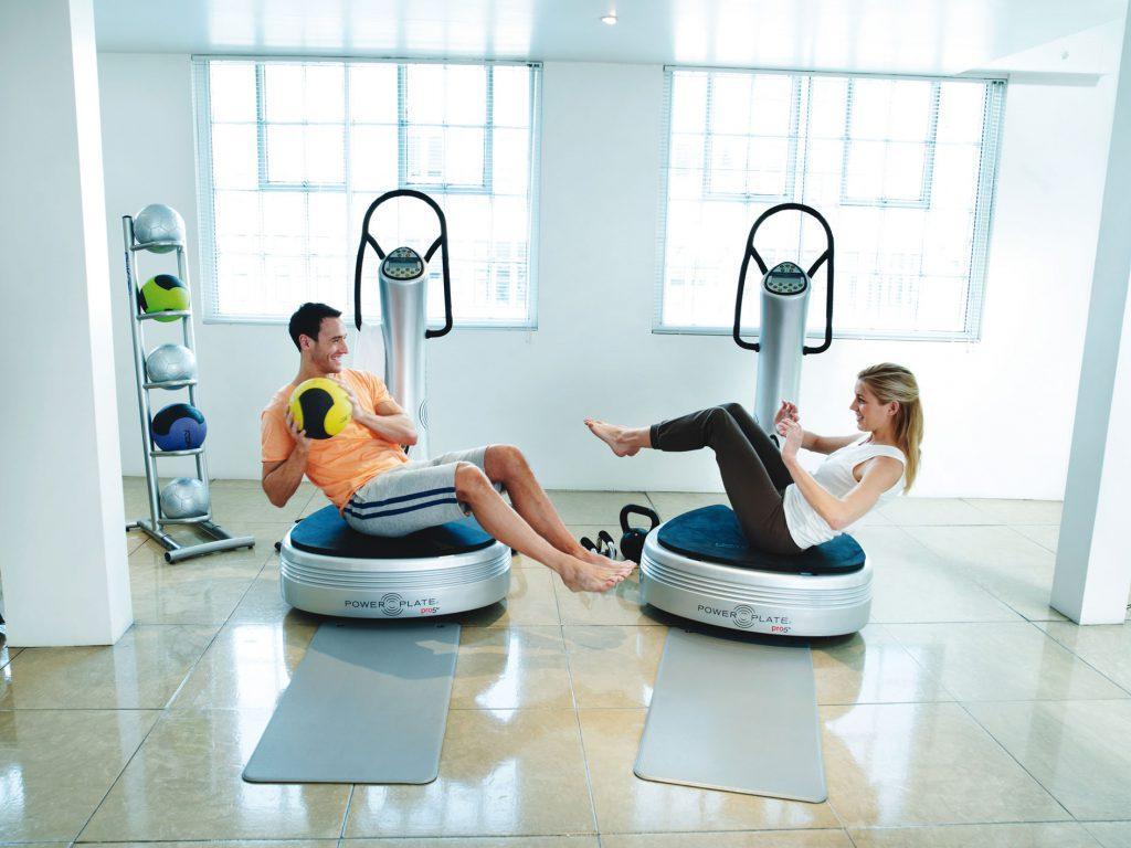 体幹トレーニング パワープレート