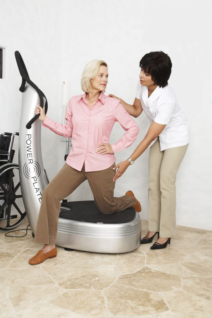 パワープレート 変形性膝関節症